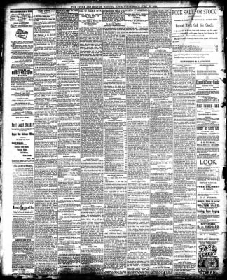 The Algona Upper Des Moines from Algona, Iowa on July 30, 1890 · Page 4
