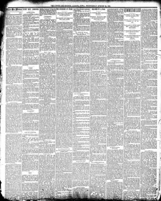 The Algona Upper Des Moines from Algona, Iowa on August 13, 1890 · Page 2