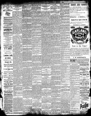 The Algona Upper Des Moines from Algona, Iowa on October 1, 1890 · Page 4