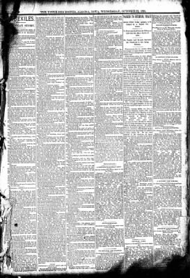 The Algona Upper Des Moines from Algona, Iowa on October 22, 1890 · Page 5