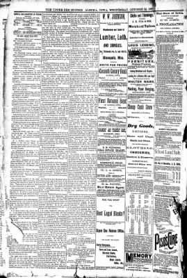 The Algona Upper Des Moines from Algona, Iowa on October 22, 1890 · Page 14