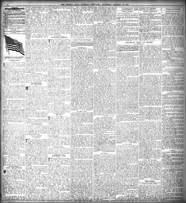 The Oregon Daily Journal from Portland, Oregon on January 18, 1919 · Page 4