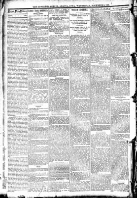 The Algona Upper Des Moines from Algona, Iowa on November 5, 1890 · Page 2