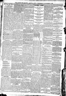The Algona Upper Des Moines from Algona, Iowa on November 5, 1890 · Page 4
