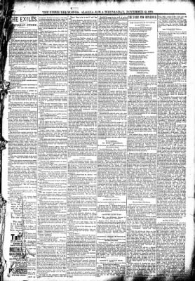 The Algona Upper Des Moines from Algona, Iowa on November 12, 1890 · Page 5