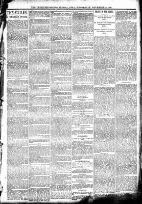 The Algona Upper Des Moines from Algona, Iowa on November 19, 1890 · Page 3