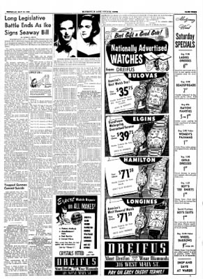The Courier News from Blytheville, Arkansas on May 13, 1954 · Page 3