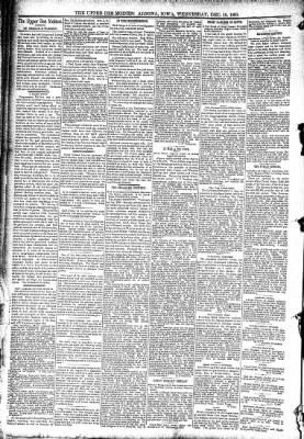 The Algona Upper Des Moines from Algona, Iowa on December 10, 1890 · Page 4
