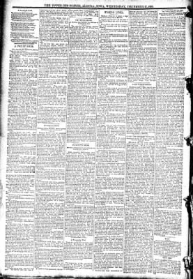 The Algona Upper Des Moines from Algona, Iowa on December 17, 1890 · Page 2