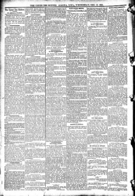 The Algona Upper Des Moines from Algona, Iowa on December 17, 1890 · Page 4