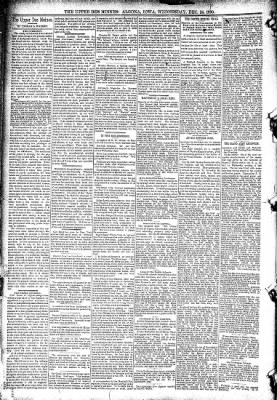 The Algona Upper Des Moines from Algona, Iowa on December 24, 1890 · Page 6