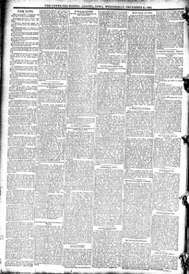 The Algona Upper Des Moines from Algona, Iowa on December 24, 1890 · Page 8