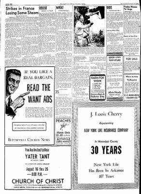 The Courier News from Blytheville, Arkansas on August 15, 1953 · Page 10