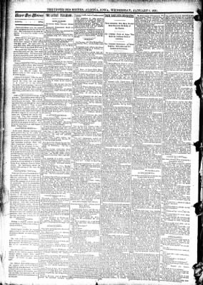 The Algona Upper Des Moines from Algona, Iowa on January 7, 1891 · Page 2
