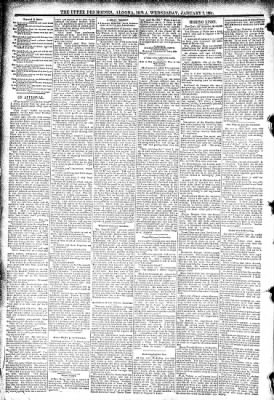 The Algona Upper Des Moines from Algona, Iowa on January 7, 1891 · Page 6