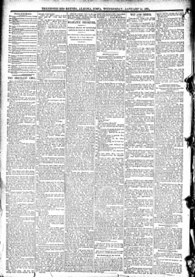 The Algona Upper Des Moines from Algona, Iowa on January 14, 1891 · Page 6