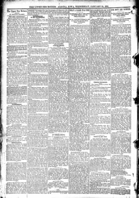 The Algona Upper Des Moines from Algona, Iowa on January 21, 1891 · Page 6