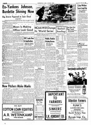 The Courier News from Blytheville, Arkansas on May 13, 1954 · Page 6