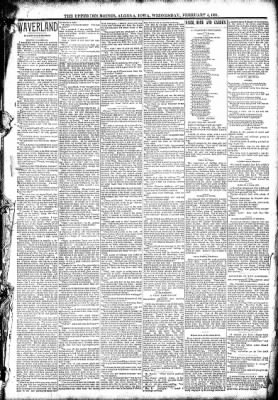 The Algona Upper Des Moines from Algona, Iowa on February 4, 1891 · Page 3
