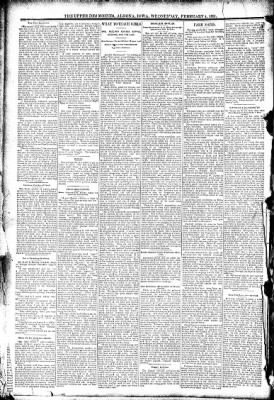 The Algona Upper Des Moines from Algona, Iowa on February 4, 1891 · Page 6