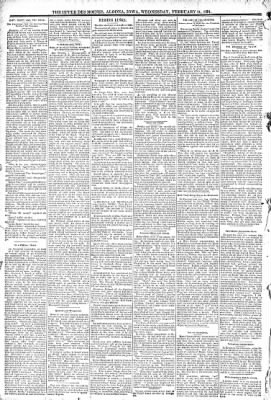 The Algona Upper Des Moines from Algona, Iowa on February 11, 1891 · Page 6