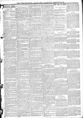 The Algona Upper Des Moines from Algona, Iowa on February 25, 1891 · Page 3