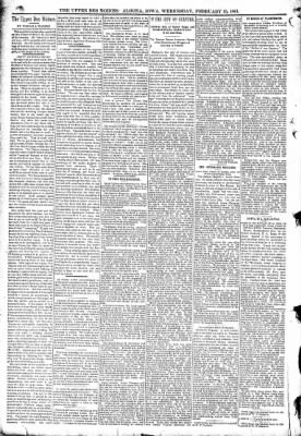 The Algona Upper Des Moines from Algona, Iowa on February 25, 1891 · Page 4