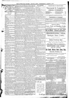 The Algona Upper Des Moines from Algona, Iowa on March 4, 1891 · Page 5