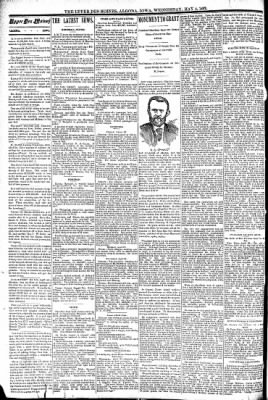 The Algona Upper Des Moines from Algona, Iowa on May 4, 1892 · Page 4