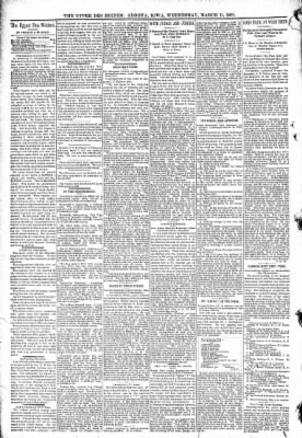 The Algona Upper Des Moines from Algona, Iowa on March 11, 1891 · Page 4