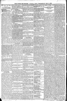 The Algona Upper Des Moines from Algona, Iowa on May 4, 1892 · Page 6