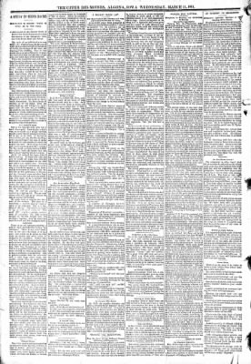 The Algona Upper Des Moines from Algona, Iowa on March 11, 1891 · Page 6