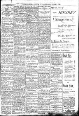 The Algona Upper Des Moines from Algona, Iowa on May 4, 1892 · Page 7