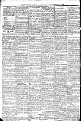 The Algona Upper Des Moines from Algona, Iowa on May 4, 1892 · Page 8
