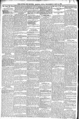 The Algona Upper Des Moines from Algona, Iowa on May 11, 1892 · Page 4