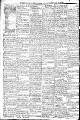 The Algona Upper Des Moines from Algona, Iowa on May 18, 1892 · Page 2