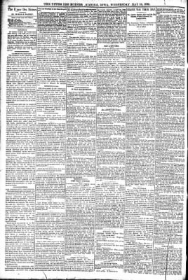 The Algona Upper Des Moines from Algona, Iowa on May 18, 1892 · Page 4