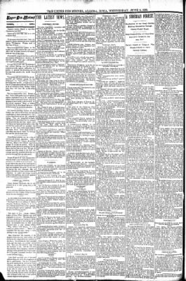 The Algona Upper Des Moines from Algona, Iowa on June 8, 1892 · Page 2