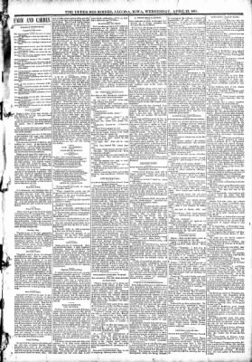 The Algona Upper Des Moines from Algona, Iowa on April 22, 1891 · Page 3