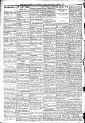 The Algona Upper Des Moines from Algona, Iowa on May 6, 1891 · Page 2