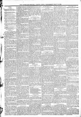 The Algona Upper Des Moines from Algona, Iowa on May 13, 1891 · Page 3