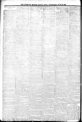 The Algona Upper Des Moines from Algona, Iowa on June 29, 1892 · Page 8