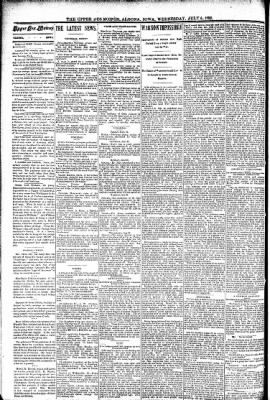 The Algona Upper Des Moines from Algona, Iowa on July 6, 1892 · Page 2