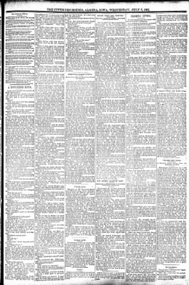 The Algona Upper Des Moines from Algona, Iowa on July 6, 1892 · Page 3