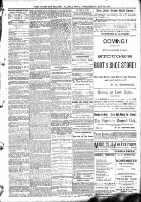 The Algona Upper Des Moines from Algona, Iowa on May 20, 1891 · Page 5