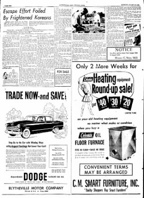 The Courier News from Blytheville, Arkansas on August 18, 1953 · Page 2