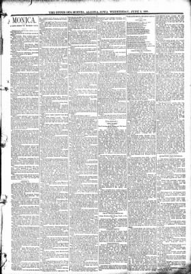 The Algona Upper Des Moines from Algona, Iowa on June 3, 1891 · Page 3