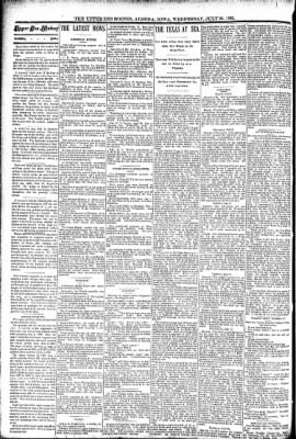 The Algona Upper Des Moines from Algona, Iowa on July 20, 1892 · Page 2