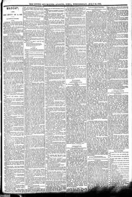 The Algona Upper Des Moines from Algona, Iowa on July 20, 1892 · Page 3