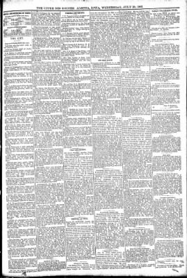 The Algona Upper Des Moines from Algona, Iowa on July 20, 1892 · Page 5